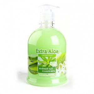 """Жидкое мыло """"Extra Aloe"""" для мытья рук и тела 500мл"""