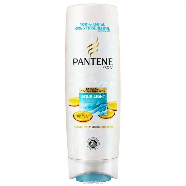 PANTENE Pro-V Aqua Light Бальзам-ополаскиватель питание и укрепление 400мл