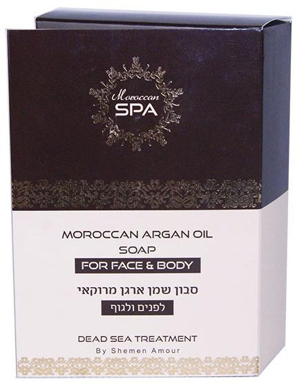 Мыло для лица и тела с аргановым маслом Shemen Amour (Шемен Амур) 200 г
