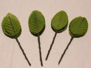 Листик. 10 см. Цвет зеленый (1 упаковка = 10*10 шт)