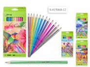 Набор цветных карандашей, 12 цветов перламутр. (арт. 815068-12) (12938)