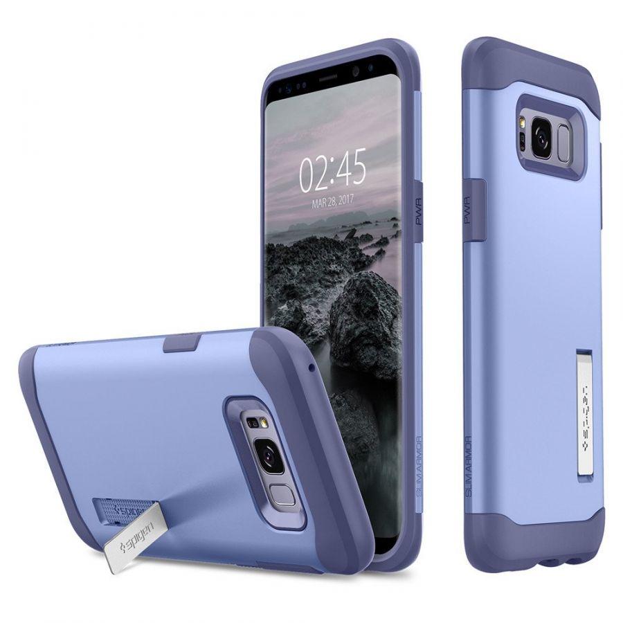 Чехол Spigen Slim Armor для Samsung Galaxy S8 сиреневый