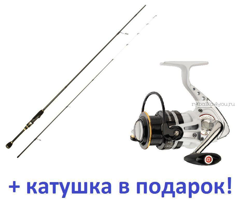 Купить Спиннинг Aiko Jannjeta 702ULS LE JNT 2.13м / тест 0,8-6гр + катушка Cormoran Pearl Master 2000 в подарок!