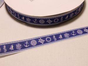 Лента репсовая с рисунком, ширина 22 мм, длина 10 м, Арт. ЛР5498