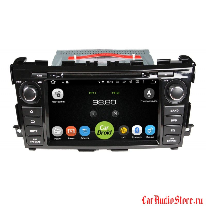 Roximo CarDroid RD-1203 для Nissan Teana 3, 2014 (Android 8.0) 4GB