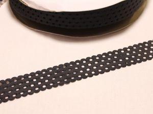 Лента репсовая с рисунком, ширина 28 мм, длина 10 м, Арт. ЛР5517-3