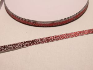 Лента репсовая с рисунком, ширина 9 мм, длина 10 м, Арт. ЛР5528-2