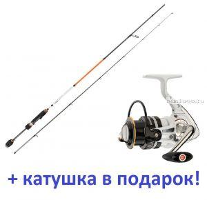 Aiko Tirrel 215UL-S  215 см 0,5-6 гр  + катушка Cormoran Pearl Master 2000  в подарок!