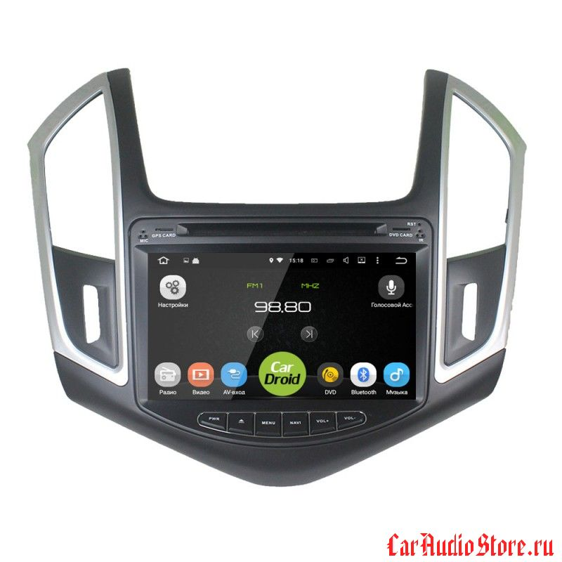 Roximo CarDroid RD-1305 для Chevrolet Cruze 2013-2016 (Android 8.0) 4GB