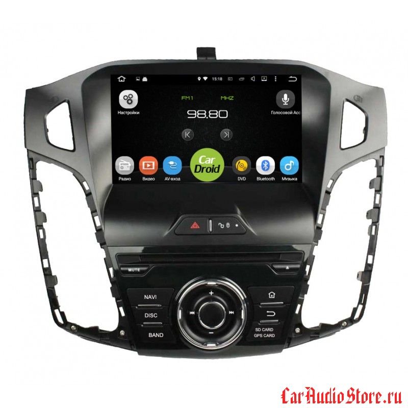 Roximo CarDroid RD-1701 для Ford Focus 3 (Android 8.0) 4GB