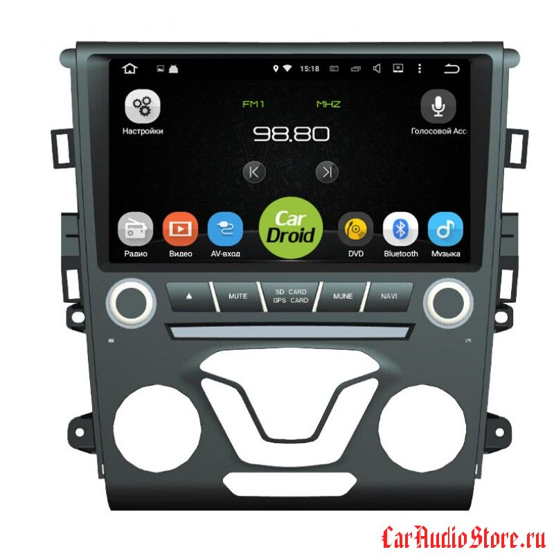 Roximo CarDroid RD-1703 для Ford Mondeo 5, 2015 (Android 8.0) 4GB