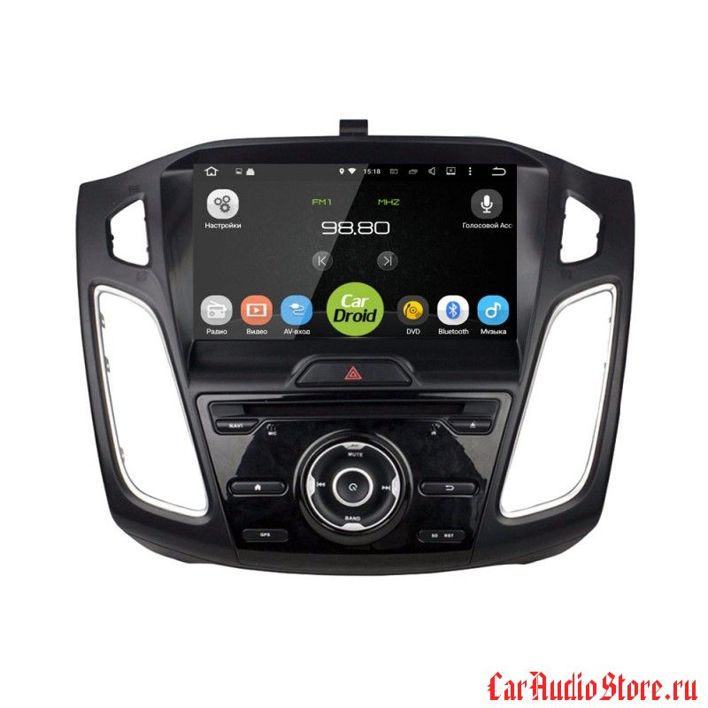 Roximo CarDroid RD-1705 для Ford Focus 3, 2015 (Android 8.0) 4GB