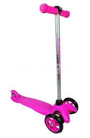 Детский трёхколёсный самокат Scooter Розовый