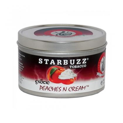 Табак для кальяна Starbuzz -  Peaches 'N' Cream (Сливочный Персик)