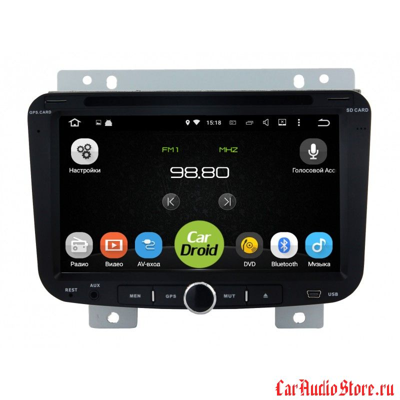 Roximo CarDroid RD-1801 для Geely Emgrand EC7 (Android 4.4.4)