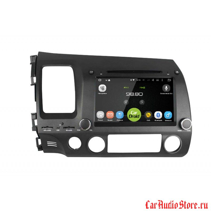 Roximo CarDroid RD-1901 для Honda Civic 8 4D (Android 8.0)