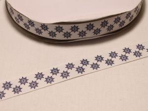 `Лента репсовая с рисунком, ширина 22 мм, Арт. Р-ЛР5502