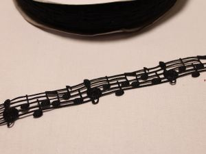`Лента репсовая с рисунком, ширина 28 мм, Арт. Р-ЛР5523-1