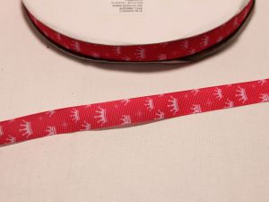 `Лента репсовая с рисунком, ширина 16 мм, Арт. Р-ЛР5530