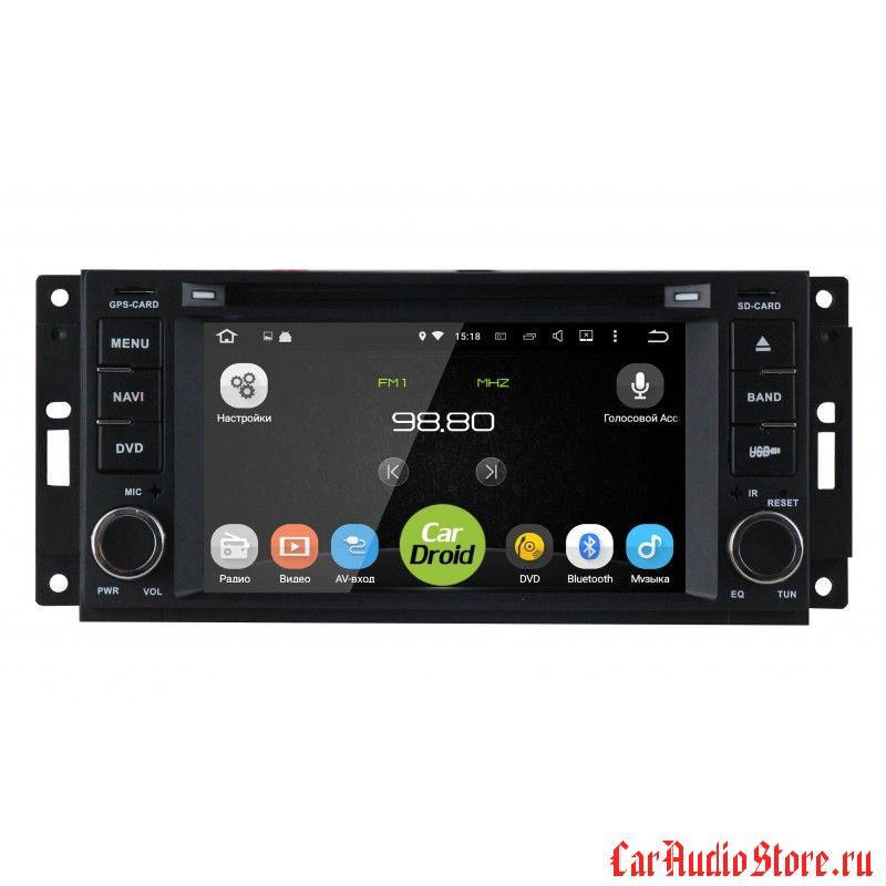 Roximo CarDroid RD-2201 для Jeep 2005-2008 (Android 8.0)
