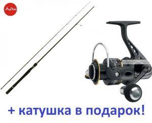 Спиннинг Aiko Shooter 902 M ( 273 см 9-30 гр) + катушка Cormoran Black Master 3000  в подарок!