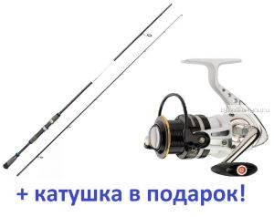 Спиннинг Aiko Realizer 273MH 273 см 10-48 гр+ катушка Cormoran Pearl Master 2500  в подарок!