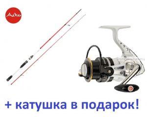 Aiko Ressens 230 L  230 см 2-12 гр+ катушка Cormoran Pearl Master 2500  в подарок!