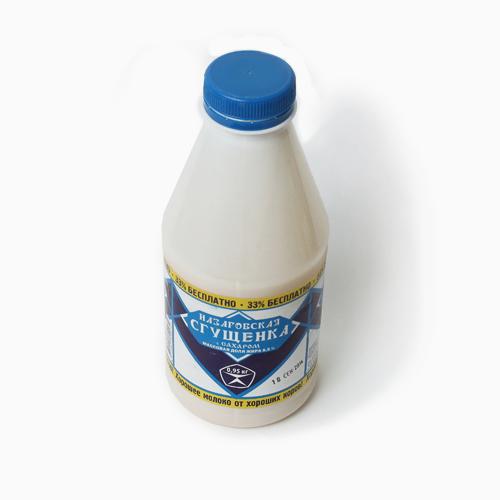 Назаровское молоко 8,5% ГОСТ пэт 950г