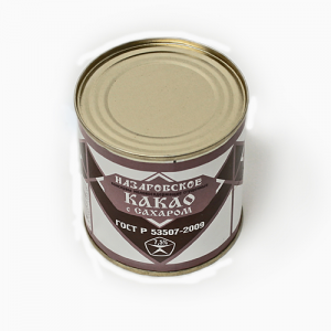 Назаровское какао 7,5% ГОСТ ж/б 360г