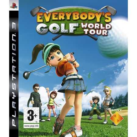 Игра Everybody's Golf World Tour (PS3)