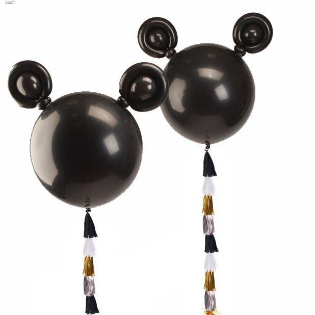 Большие шары с тассел Микки