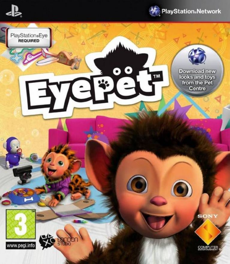 Игра EyePet (PS3, PS Move)