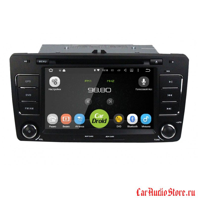 Roximo CarDroid RD-3202 для Skoda Octavia 2, A5 (Android 8) 4Gb