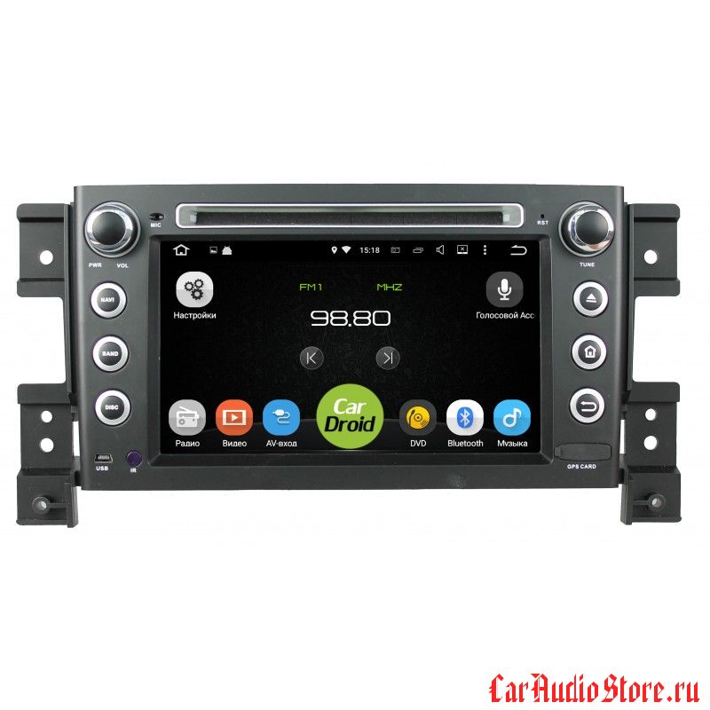Roximo CarDroid RD-3503 для Suzuki Grand Vitara 2 (Android 8.0) 4GB