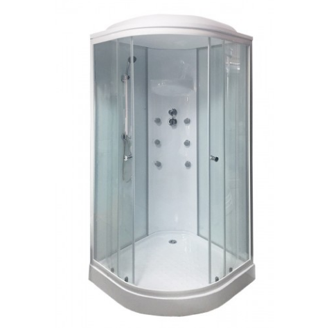 Душевая кабина Royal Bath 90x90 RB 90HK6-WT