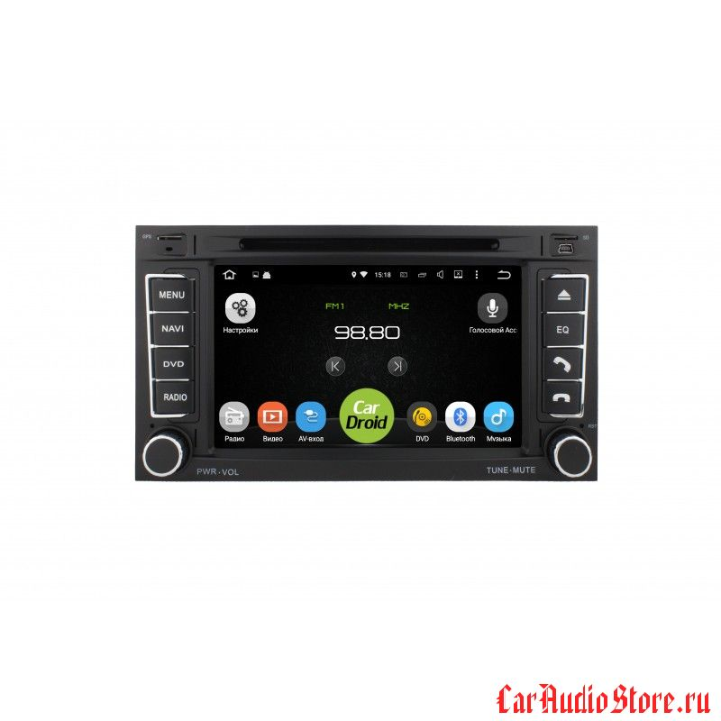 Roximo CarDroid RD-3703 для Volkswagen Touareg, 2006 (Android 8.0) 4Gb