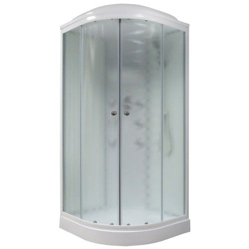 Душевая кабина Royal Bath 100x100 RB 100HK3-WC с гидромассажем