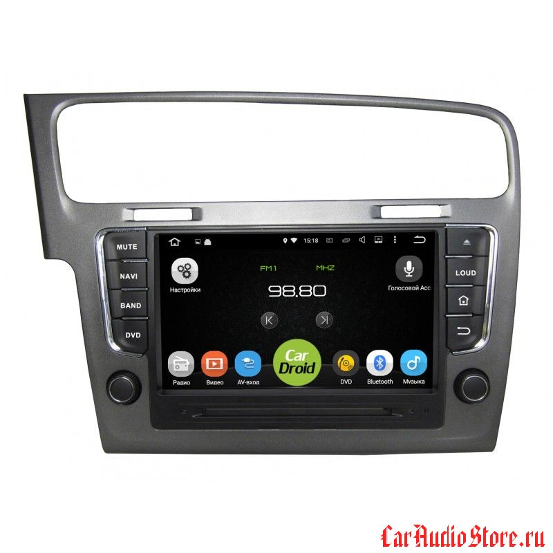 Roximo CarDroid RD-3705 для Volkswagen Golf 7 (Android 5.1.1)