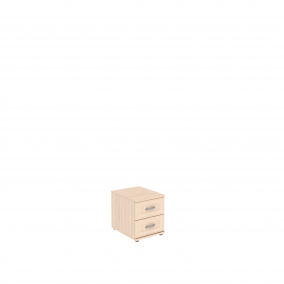 Тумба с 2 ящиками  УК-111.02 450х570х525 мм (ШхГхВ)
