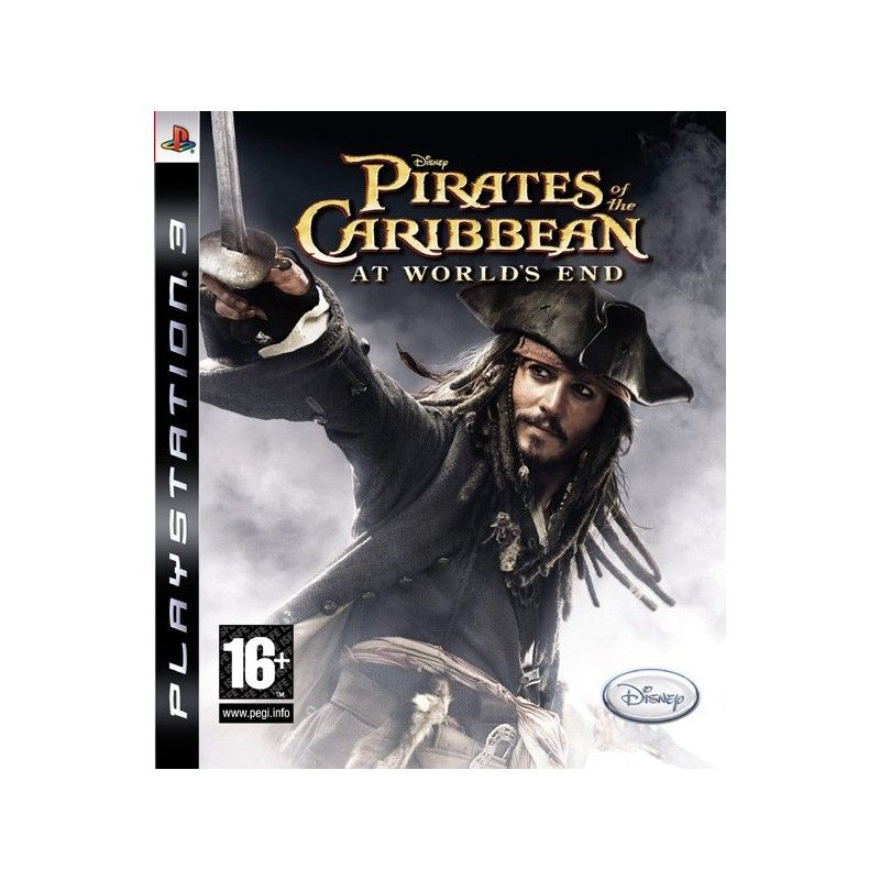 Игра Pirates of the Caribbean At World's End (PS3)