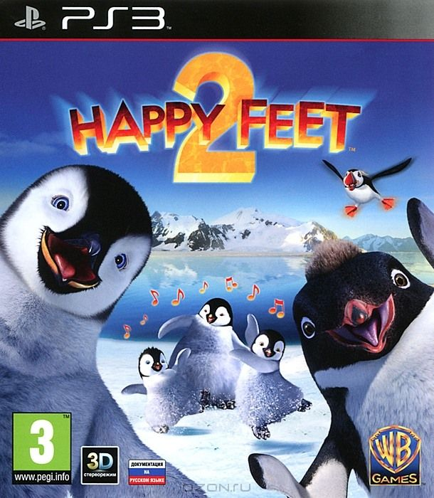 Игра Happy Feet 2 (PS3)