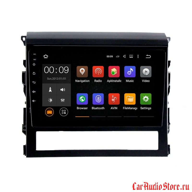 Roximo 4G RX-1113 для Toyota Land Cruiser 200 2015+ (Android 8.0)