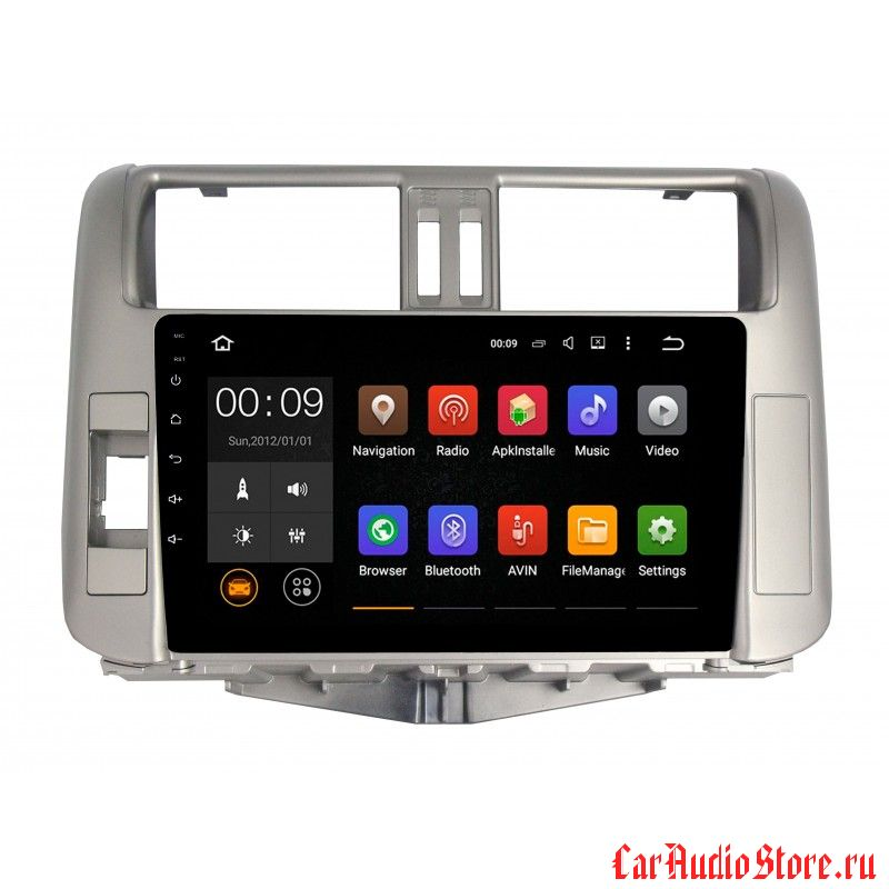 Roximo 4G RX-1114 для Toyota Land Cruiser Prado 150 2009-2014 (Android 6.0)