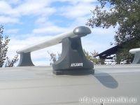 Багажник на крышу Peugeot Partner (2008-...), Атлант, аэродинамические дуги
