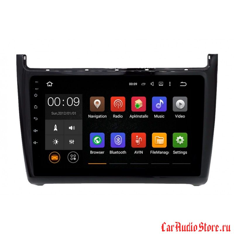Roximo 4G RX-3707 для Volkswagen Polo (Android 6.0)