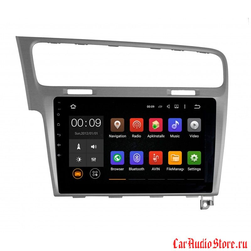 Roximo 4G RX-3715 для Volkswagen Golf 7 (Android 6.0) (RX-3715G, RX-3715B)