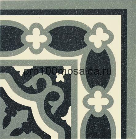 PT01977 (d) Mainzu Florentine Esquina Black 20x20 см (MAINZU)