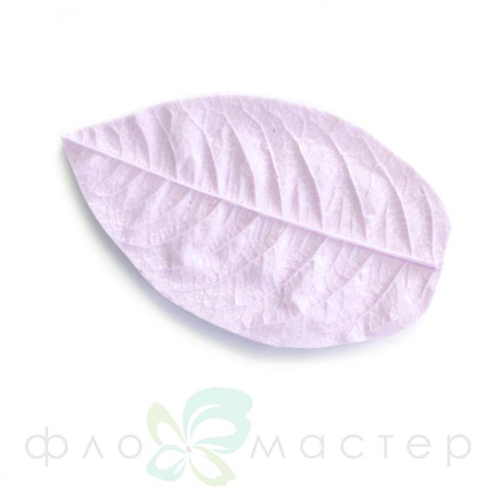 Молд лист садовой розы маленький