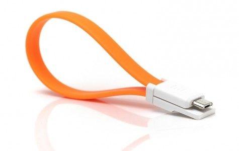 Кабель USB - microUSB  Xiaomi  Mi Colorful  20 см (Оранжевый)