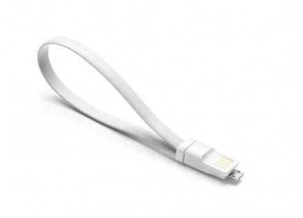 Кабель USB - microUSB  Xiaomi  Mi Colorful  20 см (Серый)